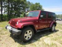 Used 2012 Jeep Wrangler Unlimited Sahara SUV for sale in Riverhead NY
