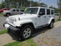 Used 2014 Jeep Wrangler Unlimited Sahara 4x4 SUV for sale in Riverhead NY