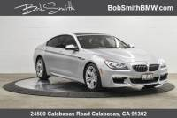 Certified Used 2014 BMW 6 Series 4dr Sdn 640i xDrive AWD Gran Coupe AWD