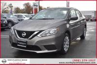 Certified Pre-Owned 2016 Nissan Sentra SV Front Wheel Drive Sedan