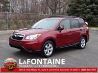 Certified Used 2015 Subaru Forester 2.5i SUV Commerce Township, MI