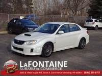Certified Used 2012 Subaru Impreza WRX Sedan Commerce Township, MI