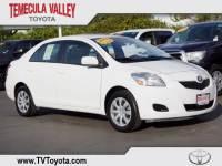 2012 Toyota Yaris Base Sedan Front-wheel Drive in Temecula