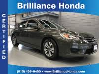 Certified Pre-Owned 2015 Honda Accord LX 4D Sedan
