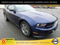 2011 Ford Mustang !LOW Miles-Leather-Manual Transmission! Convertible V-6 cyl