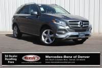 Pre-Owned 2017 Mercedes-Benz GLE 350 4MATIC SUV in Denver