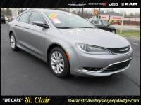 Certified Pre-Owned 2016 Chrysler 200 C Car For Sale Saint Clair, Michigan