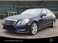 Certified Pre-Owned 2013 Mercedes-Benz E 350 Sport Rear Wheel Drive SEDAN