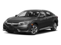 New 2018 Honda Civic LX CVT FWD 4dr Car