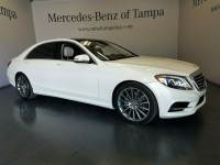 Certified 2015 Mercedes-Benz S-Class S 550 Sedan in Jacksonville FL