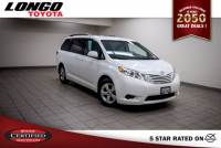 Certified Used 2015 Toyota Sienna 8-Passenger LE FWD in El Monte