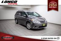 Certified Used 2016 Toyota Sienna 8-Passenger XLE FWD in El Monte