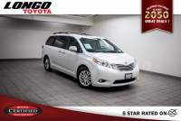 Certified Used 2015 Toyota Sienna 8-Passenger XLE FWD in El Monte