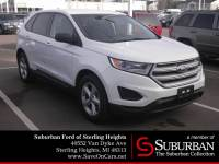 2015 Ford Edge SE SUV EcoBoost I4 GTDi DOHC Turbocharged VCT