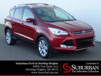 2014 Ford Escape Titanium SUV EcoBoost I4 GTDi DOHC Turbocharged VCT