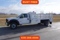 2006 Ford F-450 15 ft flatbed low miles 1 owner