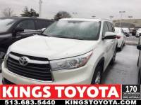 Used 2015 Toyota Highlander Limited Sport Utility in Cincinnati, OH