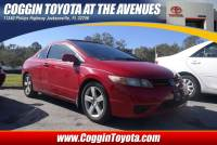 Pre-Owned 2006 Honda Civic EX Coupe Front-wheel Drive in Jacksonville FL