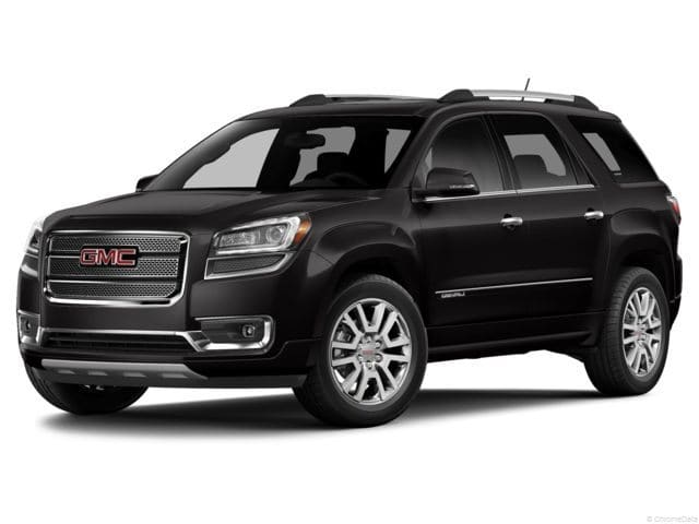 Photo 2014 Certified Used GMC Acadia SUV Denali Carbon Black For Sale Manchester NH  Nashua  StockG18043B