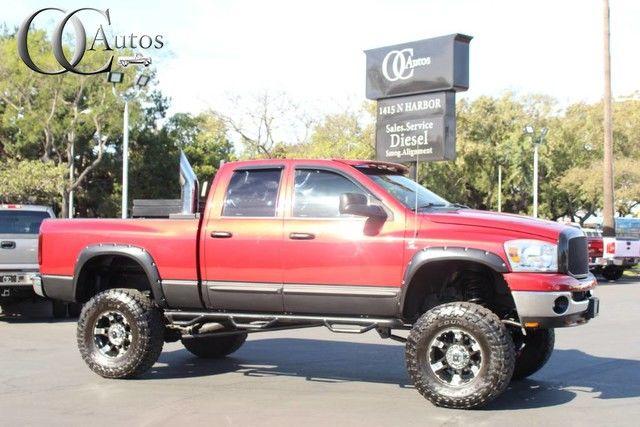 Photo 2007 Dodge RAM 2500 5.9L HO CUMMINS DIESEL 4X4 LIFTED CREW CA SB LOADED