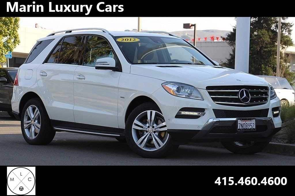 Photo Pre-Owned 2012 Mercedes-Benz M-Class ML 350 4MATIC SUV in Corte Madera, CA