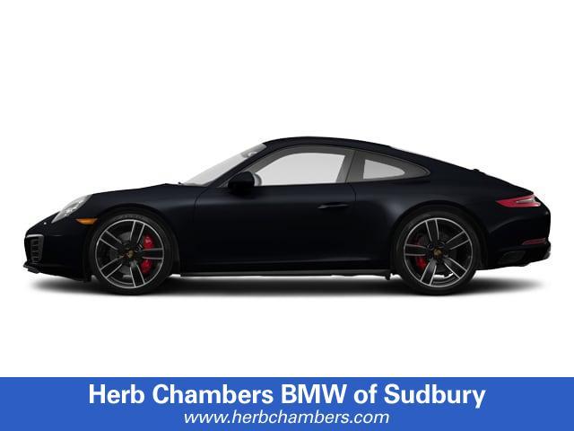 Pre-Owned 2017 Porsche 911 Carrera 4S Coupe Coupe in Sudbury, MA