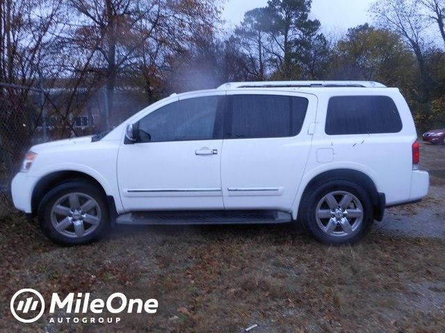 2011 Nissan Armada Platinum SUV 8-Cylinder SMPI DOHC
