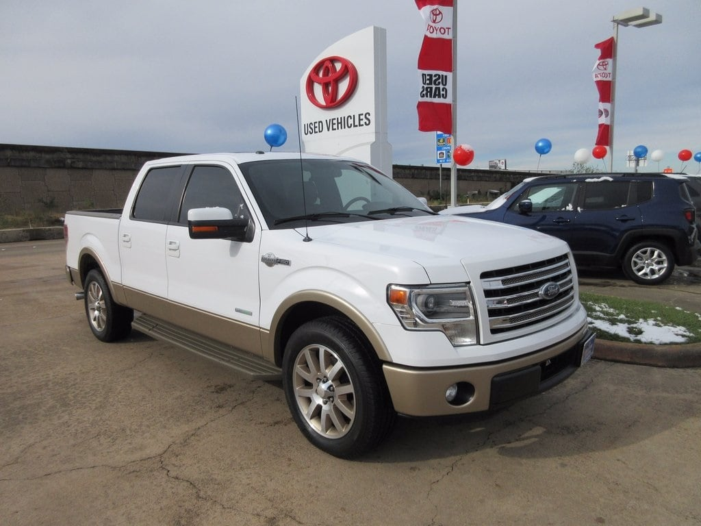Used 2014 Ford F-150 King Ranch Truck RWD For Sale in Houston