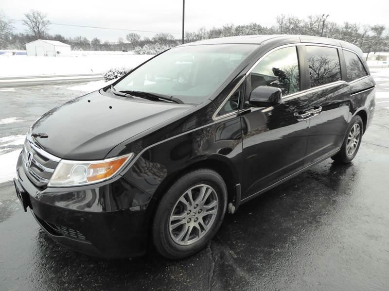 2012 Honda Odyssey EX-L 4dr Mini-Van w/DVD