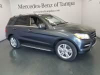 Certified 2015 Mercedes-Benz M-Class ML 350 SUV in Tampa FL