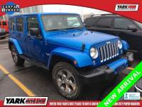 Certified Used 2016 Jeep Wrangler Unlimited Sahara 4x4 SUV in Toledo