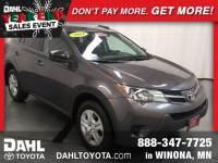 Used 2014 Toyota RAV4 LE SUV in Winona MN