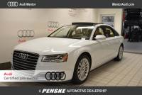 Certified Pre-Owned 2015 Audi A8 3.0T Sedan in Mentor, OH