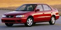 2001 Toyota Corolla S 4dr Sedan