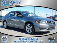 Certified Pre-Owned 2013 VOLKSWAGEN PASSAT TDI SE Front Wheel Drive 4 Door Sdn