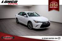 Certified Used 2017 Toyota Camry SE Automatic in El Monte
