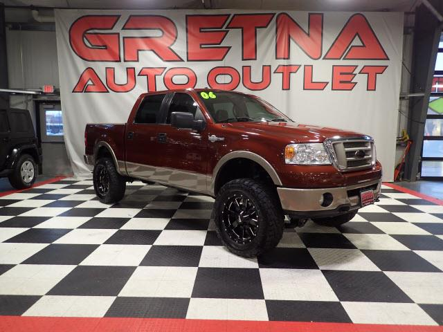 Photo 2006 Ford F-150 KING RANCH SUPERCREW 4X4 HEATED LEATHER ROOF