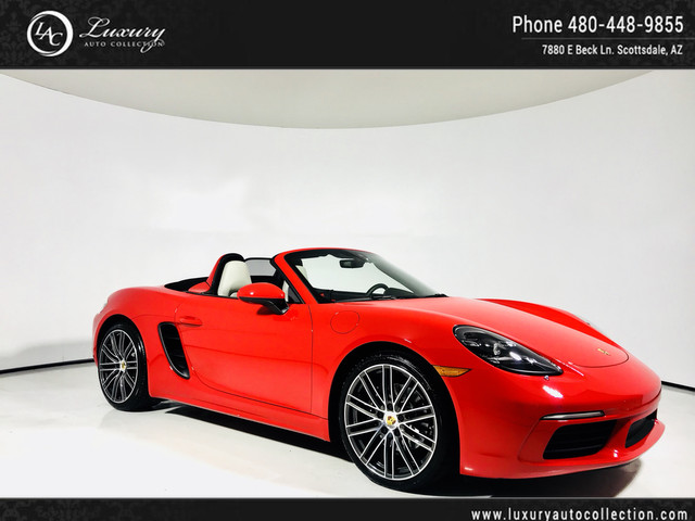 Photo 2017 Porsche 718 Boxster Roadster  Sport Exhaust  Navi  Premium Pkg Plus  84K MSRP Rear Wheel Drive Convertible