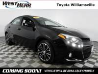 2015 Toyota Corolla S Plus Sedan For Sale - Serving Amherst