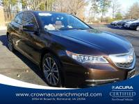 Pre-Owned 2015 Acura TLX TLX 3.5 V-6 9-AT P-AWS with Technology Package in Richmond VA