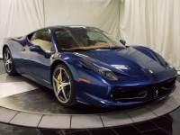 Pre-Owned 2015 Ferrari 458 Italia Base RWD 2D Coupe