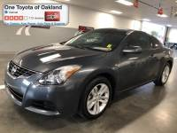 Pre-Owned 2013 Nissan Altima 2.5 S Coupe in Oakland, CA