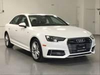 2017 Audi A4 Season of Audi Premium Sedan