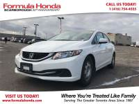 Certified Pre-Owned 2014 Honda Civic Sedan $100 PETROCAN CARD YEAR END SPECIAL! FWD Car