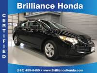 Certified Pre-Owned 2014 Honda Civic LX 4D Sedan