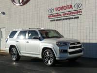 Certified 2017 Toyota 4Runner Limited SUV 4x2 in Brandon MS