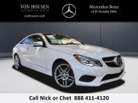 Pre-Owned 2014 Mercedes-Benz E 350 Sport Rear Wheel Drive COUPE