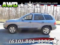 2003 Hyundai Santa Fe GLS 4WD 4-Speed Automatic