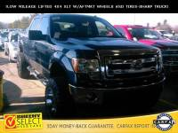 2014 Ford F-150 !Lifted LOW Mileage Crew CAB 4X4 XLT! Truck SuperCrew Cab V-8 cyl