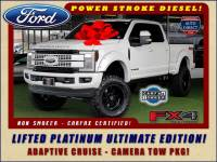 2017 Ford Super Duty F-250 Pickup PLATINUM ULTIMATE Crew Cab 4x4 FX4 - LIFTED